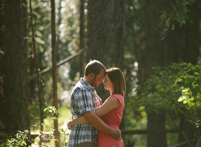 McCall Engagement Session | Jenny + Ben